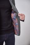 Next Textured Blazer-Slim Fit