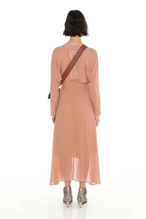 Ginger & Smart Edition #1 Sleeve Wrap Dress