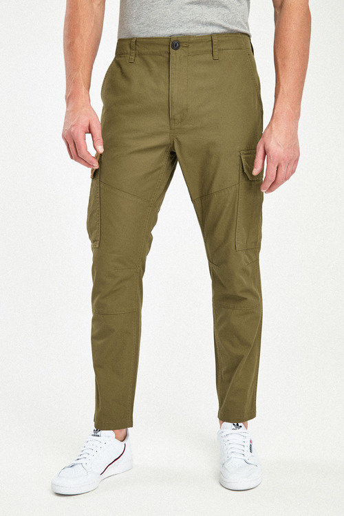 Next Pure Cotton Cargo-Straight Fit