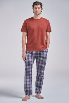 Next Check Woven Pyjama Set - 261148
