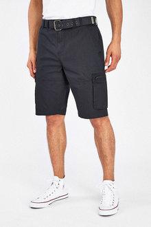 Next Belted Cargo Shorts - 261158