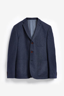 Next Nova Fides Signature Three Button Blazer - 261201
