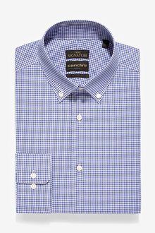 Next Slim Fit Check Canclini Signature Shirt - 261232
