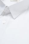 Next Cotton Linen Floral Trim Shirt