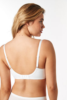 Next Georgie DD+ Non Padded Full Cup Cotton Blend Bras Two Pack - 261273
