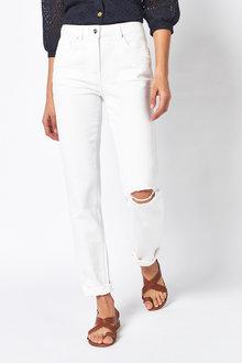 Next Mid Rise Boyfriend Jeans - 261341