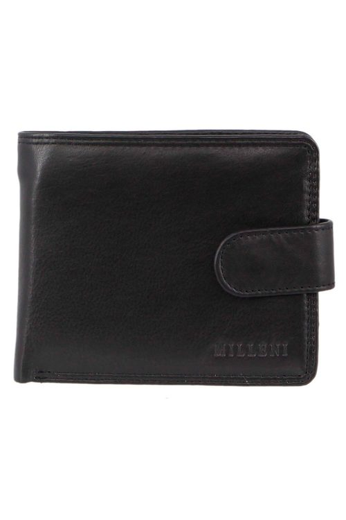 Milleni Mens Leather Tab Wallet
