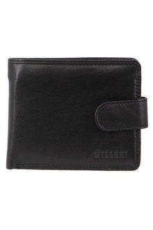 Milleni Mens Leather Tab Wallet - 261368
