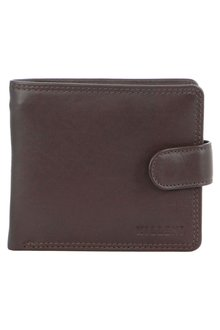 Milleni Mens Leather Tab Wallet - 261369
