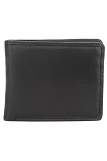 Milleni Mens Leather Bi-Fold Wallet - 261370