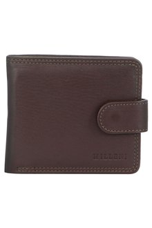Milleni Mens Leather Bi-Fold Wallet - 261371
