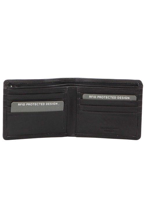 Milleni Mens Leather Slimline Wallet