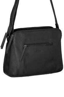 Milleni Multi-Zip Leather X-body Bag - 261374