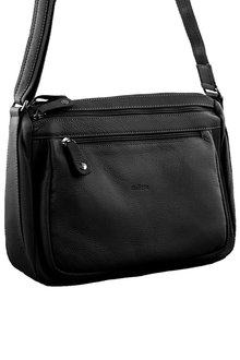 Milleni Multi-Zip Leather X-body Bag - 261375