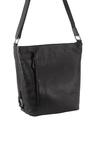 Milleni Leather Bucket Crossbody Bag