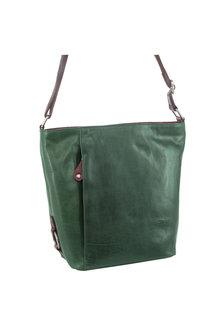 Milleni Leather Bucket Crossbody Bag - 261376