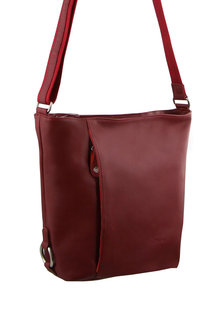 Milleni Leather Bucket Crossbody Bag - 261376