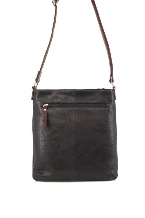 Milleni Leather Slimline Crossbody Bag