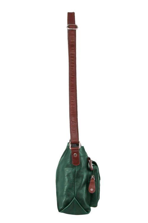Milleni Leather Crossbody Bag