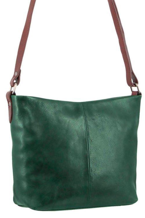 Milleni Leather Cross-body Bag