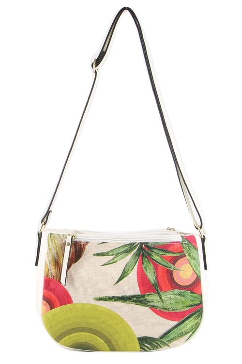 Milleni Floral Cross-Body Bag