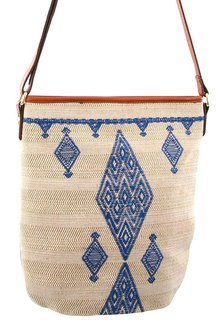 Milleni Patterned Cross-Body Bag - 261384