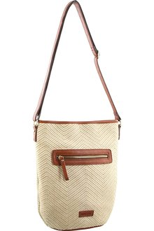 Milleni Patterned Cross-Body Bag - 261385