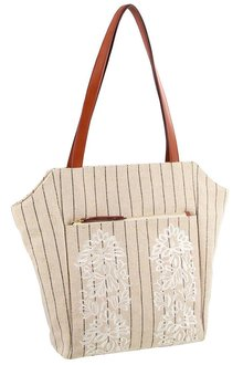 Milleni Textured Shopper Tote Bag - 261388