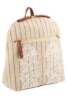 Milleni Textured Ladies Backpack - 261389