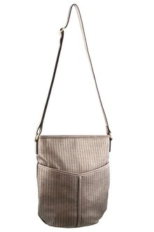 Milleni Perforated Cross-Body Bag - 261394
