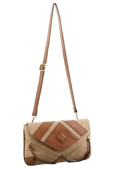 Milleni Patterned Crossbody Bag - 261401