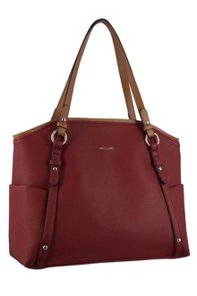Milleni 2-Tone Fashion Tote Handbag - 261411