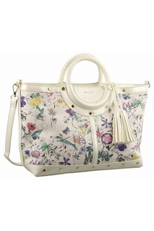 Milleni Floral Fashion Tote Handbag - 261413