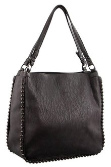 Milleni Fashion Tote With Ball Detail - 261431
