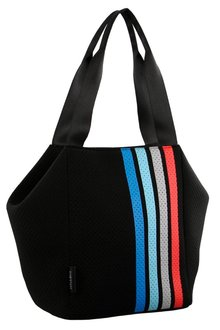 Milleni Neoprene Stripe Tote Bag - 261435