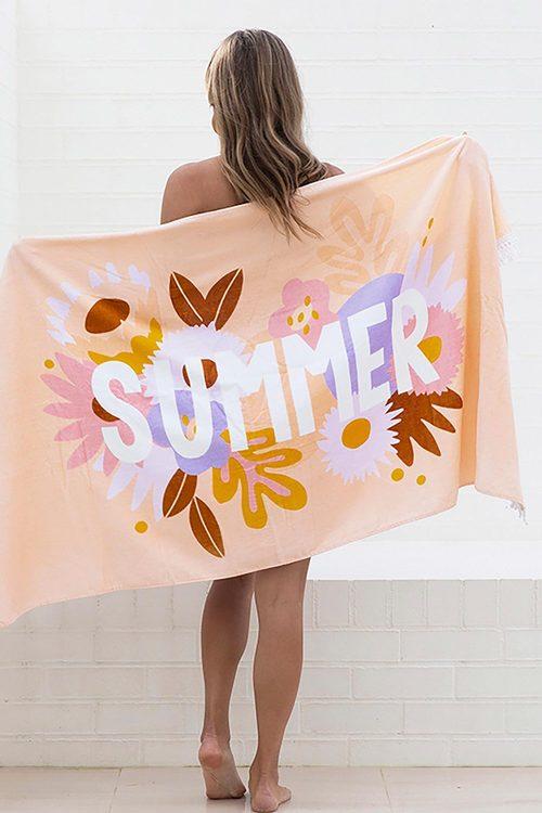 Bambury Printed Beach Towel