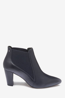 Next Forever Comfort Formal Ankle Boots-Wide Fit - 261807