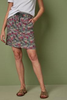 Next Linen Blend Skirt-Tall - 261874