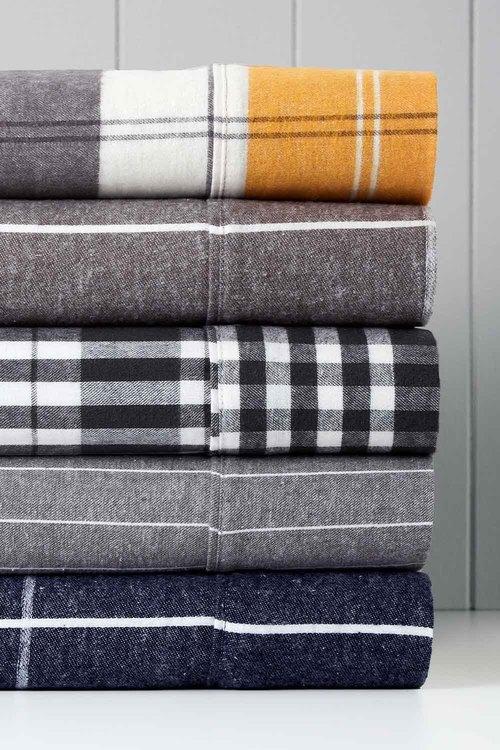 Marylebone Cotton Flannelette Sheet Set
