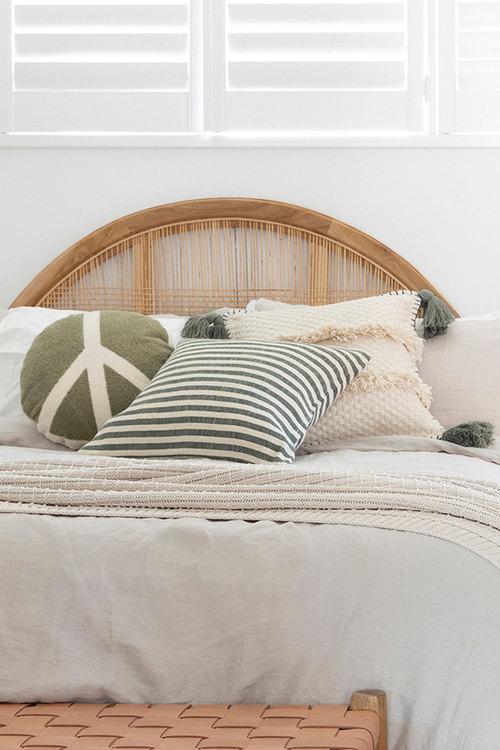 Bambury Peace Round Cushion