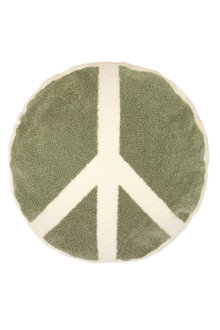 Bambury Peace Round Cushion - 261935