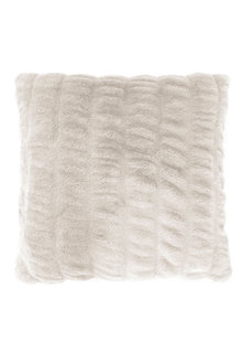 Bambury Ripple Faux Fur Cushion - 261936