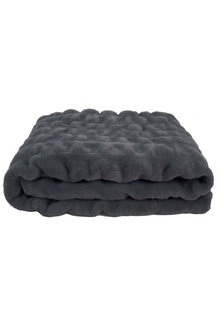 Bambury Ripple Faux Fur Throw - 261937