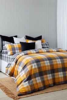 Cavendish Cotton Flannelette Duvet Cover Set - 261948