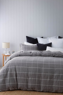 Berkeley Cotton Flannelette Duvet Cover Set - 261949