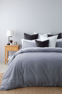 Portland Cotton Flannelette Duvet Cover Set - 261950
