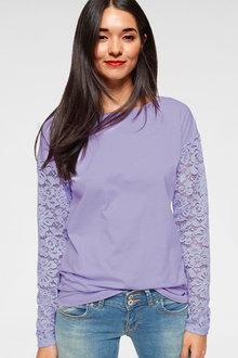 Urban Lace Sleeve Top - 262028