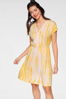 Urban Tie Dye Print Dress - 262030