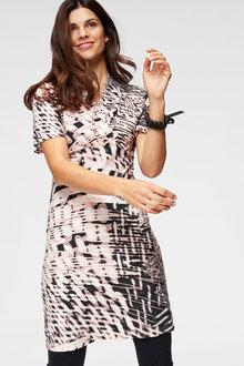 Urban Printed Dress - 262037