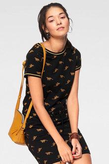Urban Printed t-shirt Dress - 262039